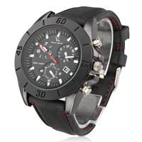 Men's New Stylish Silicone Sport Wrist Watch