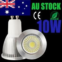 10pcs/lot AU stock led cob spotlight quality assurance 7W/10W LED Lamps Bulb 220V 240v led light  free shipping 1-6 days arrived