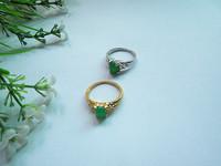 30pcs/lot beautiful woman gilt ring