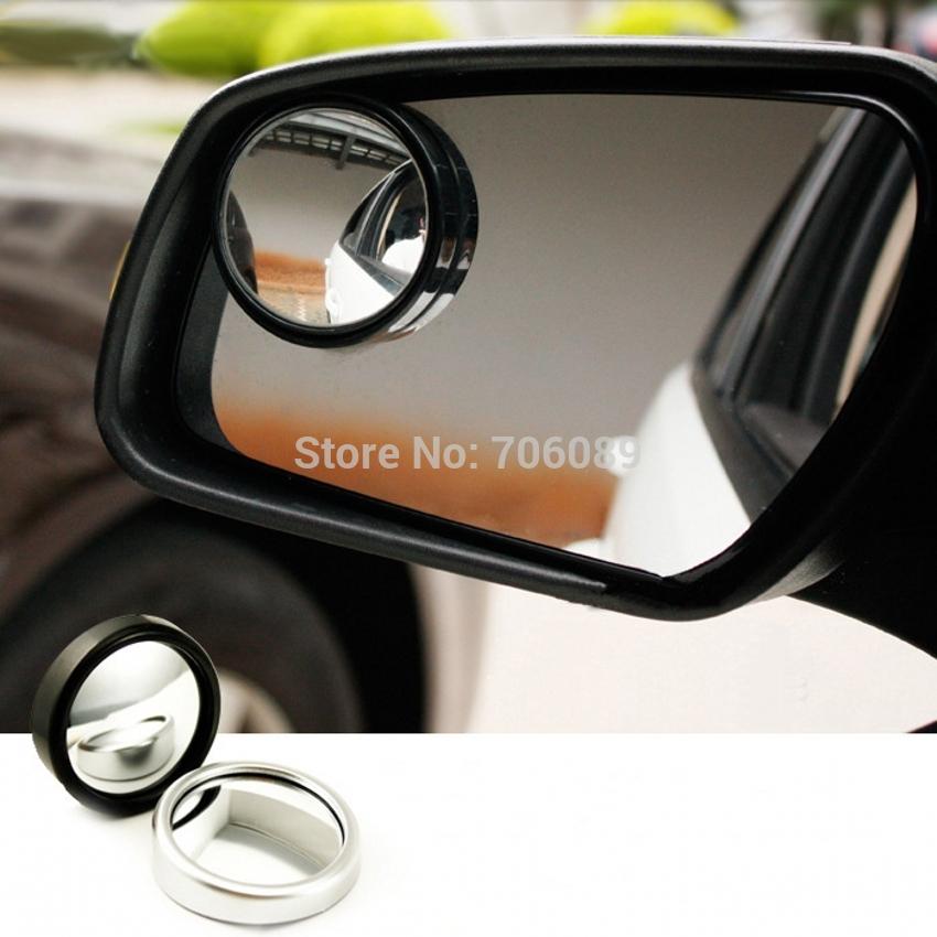 Novo 2 ps carro auto motorista grande angular plano Blind Spot espelho Backing up espelhos retrovisores(China (Mainland))