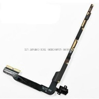 Volume Audio Headset Jack  PCB Board Flex Cable for iPad 3 4 Wifi version