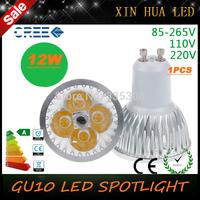 1PCS Ultra Bright dimmable  9w 12W  15w GU10  LED Bulbs Spotlight High Power gu 10 led Lamp Day White LED SPOT  Light