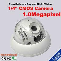 Best price Mini Dome IP Camera 1280*720P 1.0MP ONVIF Indoor IR CUT Night Vision Security Camera P2P 22Leds H.264