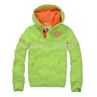Free Shipping! 2014 New Men Fleece Hoodies/ Men Sweatshirts /lover Hoodies  Cotton Covered Button 7001