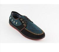 Free Shipping 2014 new men's casual shoes British fashion wild mature men corduroy shoes