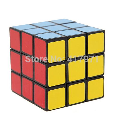 DIY 3x3x3 6cm Brain Teaser Magic IQ Cube Complete Kit 6 colors -3Layers(China (Mainland))