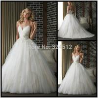 Elegant A-Line Spaghetti Wedding Dresses Bridal Gown Custom Size Vestido De Noiva
