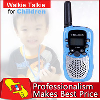 Free shipping factory sale blue  1 pair T388 walkie talkie 462-467MHz 22 channel for children