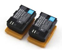 2x LP-E6 Battery 7.4V 2650mAh For Canon 6D 5D Mark III 5D Mark II 7D 60D Camera