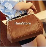 HOT 2015 Retro Classic Faux Suede Imitation leather Shoulder Bag Messgaer Handbag 5 color Fashion High Quality