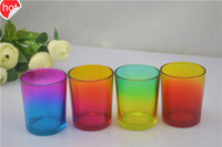 candle holder glass home decoration glass tealight
