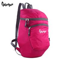 High quality fashion sports bag drum ultra-light waterproof bag casual travel bag double-shoulder bag female backpack