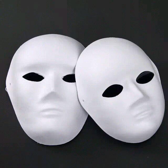 Black And White Masquerade Masquerade Mask Diy White