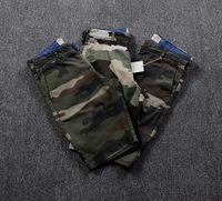 Casual shorts male summer 100% cotton military Camouflage male short 3 fancy board