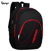 High quality middle school students school bag laptop bag backpack bag travel backpack male