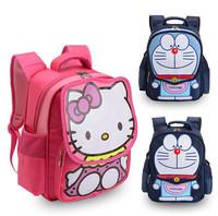 Hello Kitty Cartoon 1-3 Grade Elementary Children School Bag Kids Backpack Nylon Waterproof Student Bag