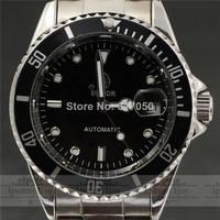 2014 new fashion luxury SWOR famous brand design full steel strap business mechanical self-wind men wrist dress watch 2388