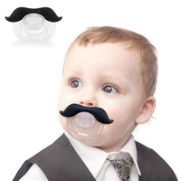 2014 Free Shipping Wholesale 1PC Cute Novelty Pacifier High Quality Funny Infant Silicone Chill Baby Mustache Pacifier Teat,BP49