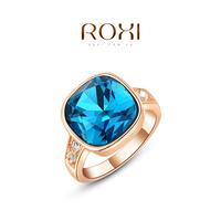 Wedding Rings Rings For Women Roxi Christmas Gift Classic Genuine Austrian Crystals Fashion Kiss Fish Ring 100% Man-made Big Off