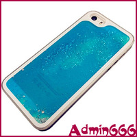 For iphone 5s case New Fashion Luxury Blue Luminous Quicksand Series Hard Case Cover Skin For iphone 5s cover