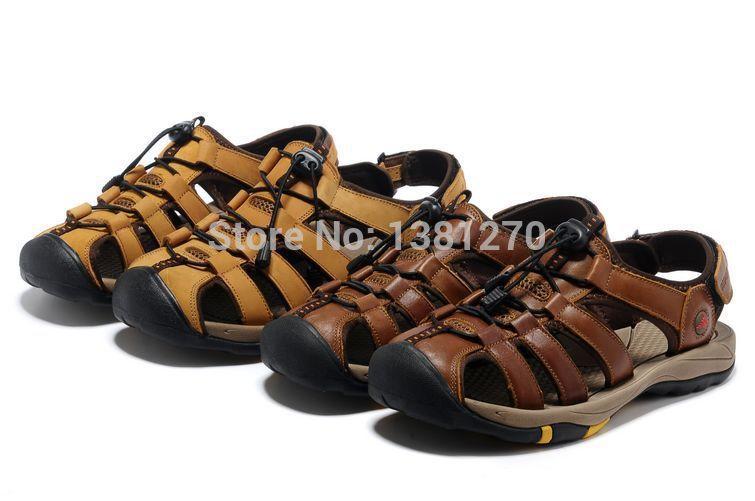 Men's Marin Fisherman Sandal summer Swing Sky Fisherman Sandals Woodlake Bay shoes man(China (Mainland))