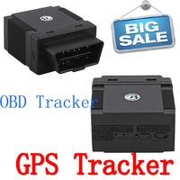 2014 New OBD Interface plug GPS/GSM/GPRS Tracker car locator, Support Smartphone App Remote Surveillance