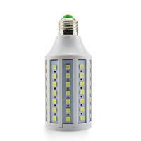 Free Shipping 5pcs 15W E27 220V-240V Corn Light White/warm white light LED lamp with SMD5050 86leds 360 degree Spot light