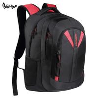 2014 school bag laptop backpack male bag commercial travel backpack