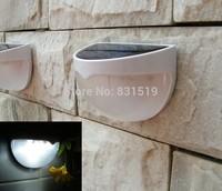 Solar senson wall light Time-limited Lamps Outdoor Solar Powered 6 Led Light Garden Street Pir Wall Lamp