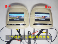 free shipping!2* 7inch headrest car monitor MP5, HD digital panel800*480,  Car Headrest Monitor USB SD MP5 player