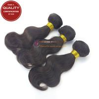 Grade A Unprocessed Peruvian Virgin Hair Body Wave hair 3pcs lot Human hair weave Natural color hair Free Shipping