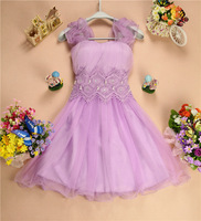 2014 Marry clothes short design double shoulder bridesmaid dress party dress GZB-330 free shipping