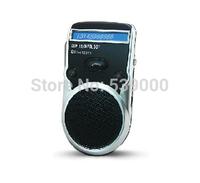 Solar Poweredc Bluetooth speaker Car Kit Handsfree call LCD Display Free Shipping