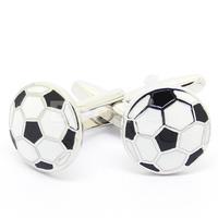 Hot Sale Funny Football Pattern Cufflinks