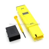 2014 New LCD Backlight Display Mini Digital Pen Type PH Meter Aquarium Pool laboratory Water PH Tester