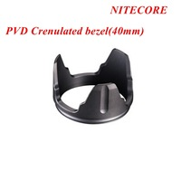 1pc Nitecore PVD Crenulated bezel(40mm) for P25, SRT7, MH25, EA4, Chameleon Series + Free Shipping