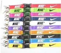 11 kinds of colours key hang rope key ring keychains keychain holder key chain for nike keychain free shipping