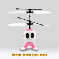 Free Shipping mini remote control airplane remote control infrared sensor alien robot 785
