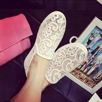 Round Toe Ballet Ballerina Women Lace Flats Shoes Woman New 2014 Summer Brand Sapatos Femininos Sandals Espadrilles DGPD1104