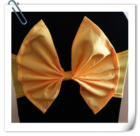2014 Hot Sale Chair Cover Sashes & Chair Cover Bow & Chair Cover Bowknot & Chair Cover Sash For Wedding
