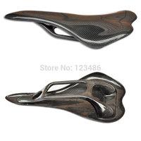Free shipping,full carbon fiber bicycle saddle carbon saddle