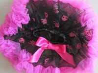 Free Shipping Girl Halloween Tutu skirt Kids Baby Pettiskrit Girls Dancewear Tutus skirts