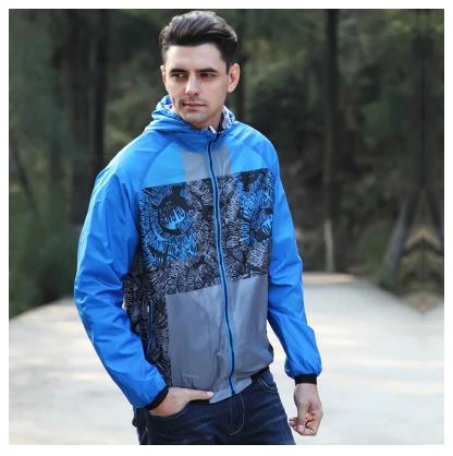 Spring autumn men's jackets outdoor casual jacket men coat both sides available jackets baseball uniform thin jacket men WE415(China (Mainland))