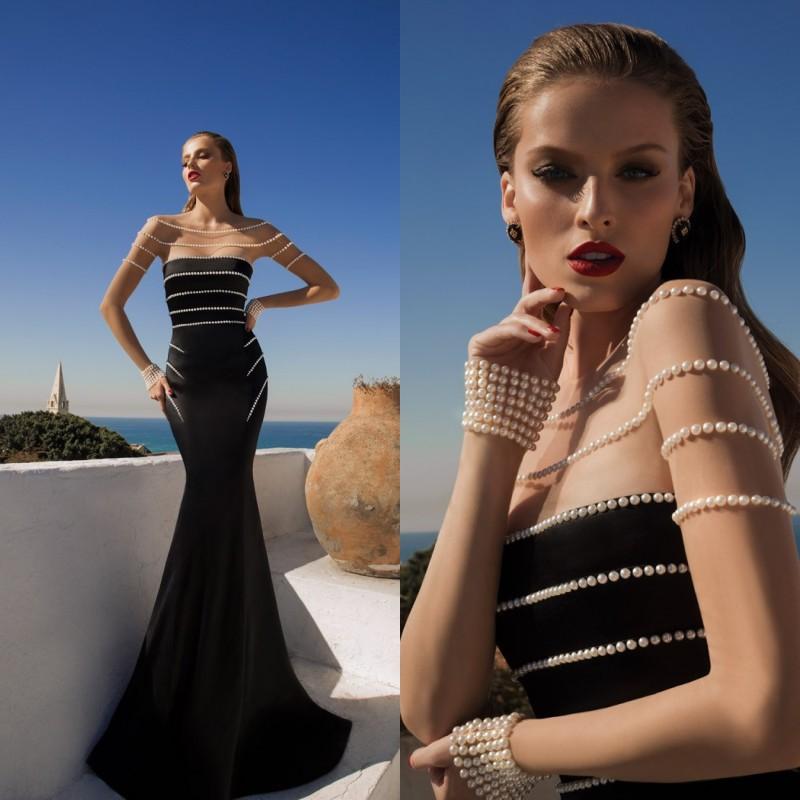 Aliexpress.com : Buy vestido de renda Elegant Navy Blue Lace Evening ...