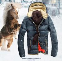 2014 Men's winter outdoor wear and autumn winter Outdoors waterproof new men fashion Down jacket Down parkas coat