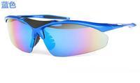 Spot supply of outdoor sports glasses polarized sunglasses glasses Colorful UV 0091 REVO piece