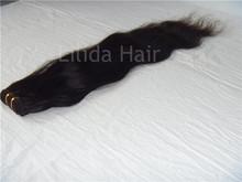 Brazilian hair weaving Nature wave human hair extension 4pcs(China (Mainland))