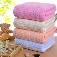 Chromophous 100% cotton plain bath towel plus size adult quality thickening bath towel waste-absorbing soft