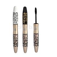 Leopard Lengthening Curving Waterproof Mascara Extension Eyelash Eye Lash Transplanting Gel Fiber Mascara Hot sale HK