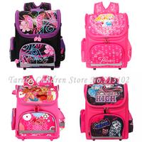New Winx School Bag Orthopedic Girls Princess Children School Bags Sofia the First Monster High School Backpack Mochila Infantil
